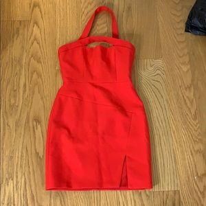 BCBG Maxazria Red Dress